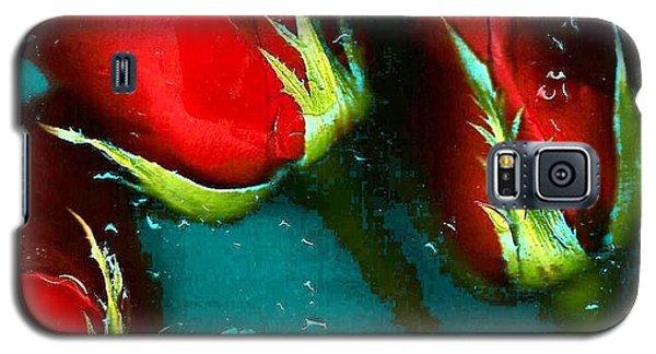 Four Roses Galaxy S5 Case by Carolyn Repka