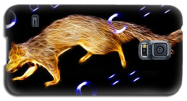 Fractal - Searching -  Robbie The Squirrel -7828 Galaxy S5 Case