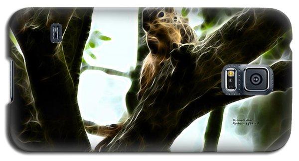 Galaxy S5 Case featuring the digital art Fractal - Thumb Sucker - Robbie The Squirrel - 8574 by James Ahn