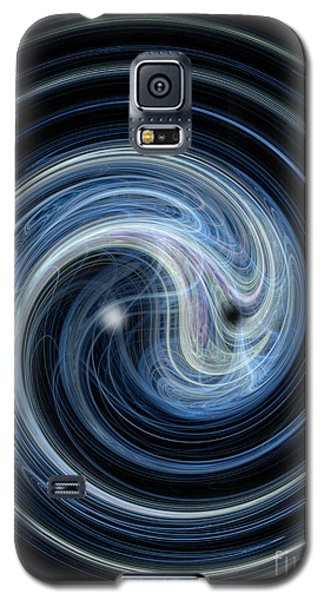 Fractal Yin And Yang Galaxy S5 Case
