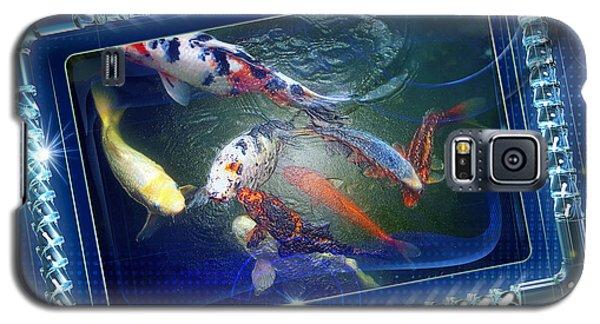 Framed Coy  Galaxy S5 Case