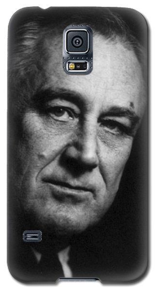 Galaxy S5 Case featuring the photograph Franklin Delano Roosevelt  - President Of The United States Of America by International  Images