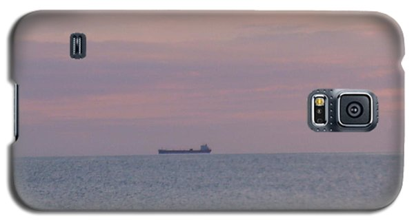 Galaxy S5 Case featuring the photograph Freighter by Bonfire Photography