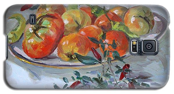 Tomato Galaxy S5 Case - Fresh From The Garden by Ylli Haruni