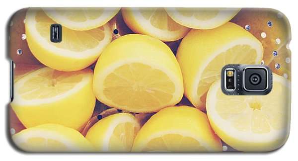 Fresh Lemons Galaxy S5 Case by Amy Tyler