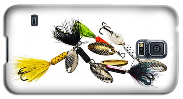 Galaxy S5 Case featuring the photograph Freshwater Fishing Lures by Susan Leggett
