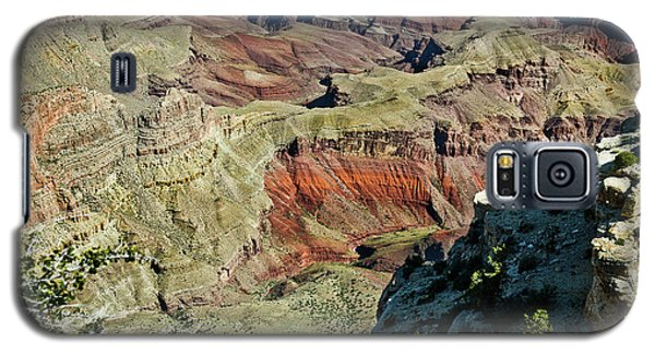 Galaxy S5 Case featuring the painting From Yaki Point 6 Grand Canyon by Bob and Nadine Johnston