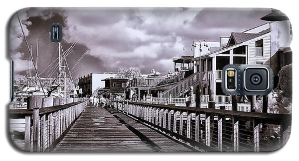 Front Street Boardwalk - Infrared Galaxy S5 Case
