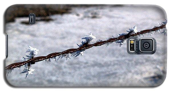 Frosty Barb Wire Galaxy S5 Case