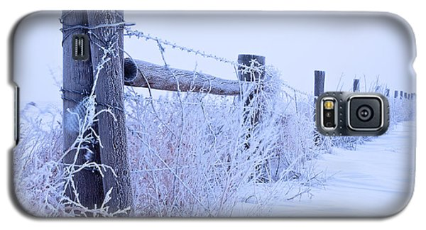 Galaxy S5 Case featuring the photograph Frosty Morning by Monte Stevens