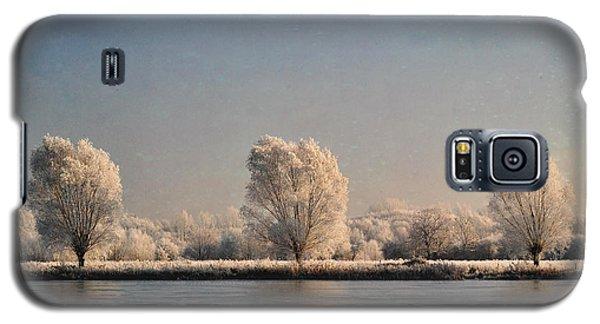 Frozen Lake Galaxy S5 Case by Lyn Randle