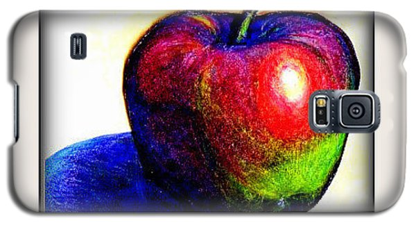 Galaxy S5 Case featuring the drawing Fruit Permis  by Danielle  Parent