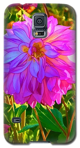 Galaxy S5 Case featuring the photograph Fuchsia Delight by Ken Stanback