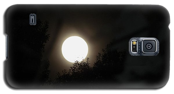 Galaxy S5 Case featuring the photograph Full Moon Beauty by Ester  Rogers