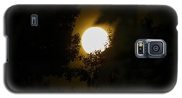 Galaxy S5 Case featuring the photograph Full Moon by Ester  Rogers