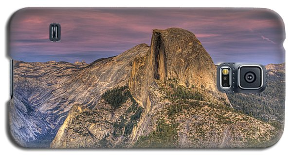 Full Moon Rise Behind Half Dome Galaxy S5 Case