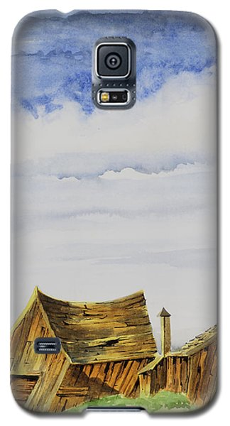 Funky Little Shacks Galaxy S5 Case