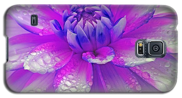 Fusia Flower Galaxy S5 Case