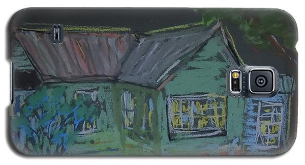 Galaxy S5 Case featuring the painting Gabby's House by Francine Frank