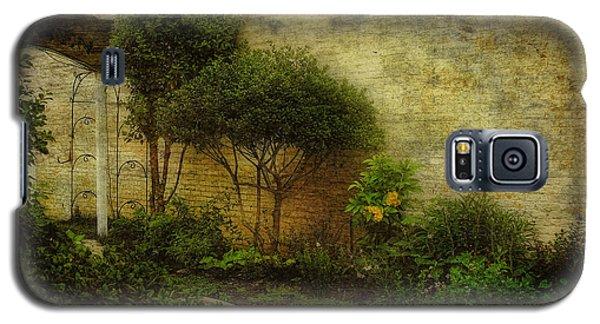Galaxy S5 Case featuring the photograph Garden Walk by Joan Bertucci