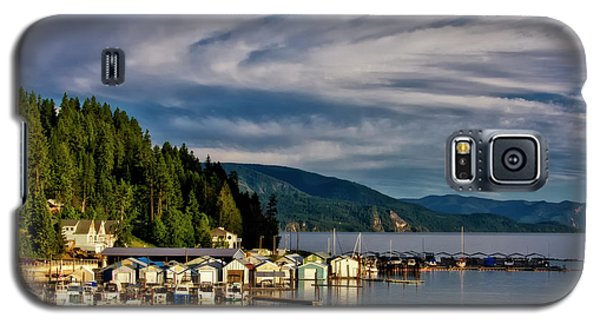 Galaxy S5 Case featuring the photograph Garfield Bay by Albert Seger
