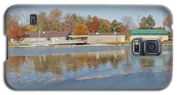 Galaxy S5 Case featuring the photograph Genesee River Panorama by William Norton