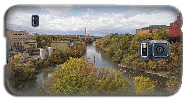 Galaxy S5 Case featuring the photograph Genesee River by William Norton