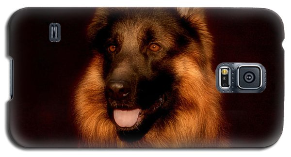 German Shepherd Portrait Galaxy S5 Case