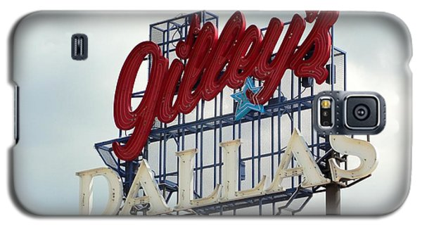 Galaxy S5 Case featuring the photograph Gilleys Dallas by Charlie and Norma Brock