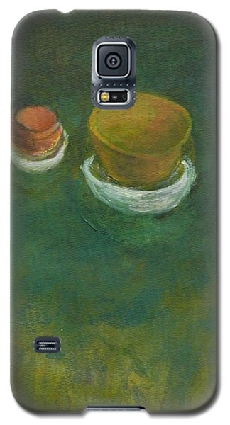 Galaxy S5 Case featuring the painting Ginger Pot by Kathleen Grace