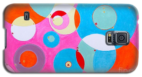 Galaxy S5 Case featuring the painting Girl by Beth Saffer