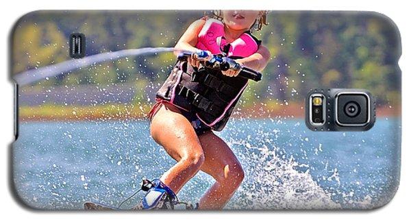 Girl Trick Skiing Galaxy S5 Case