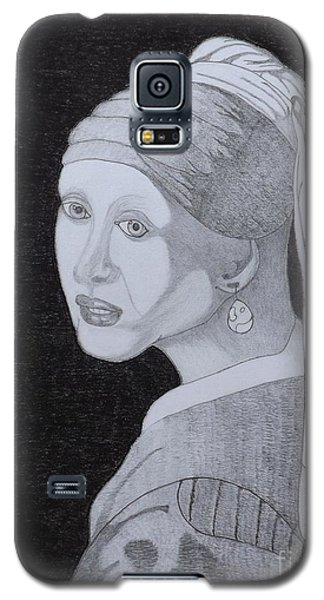 Girl With A Pearl Earring Galaxy S5 Case by Gerald Strine