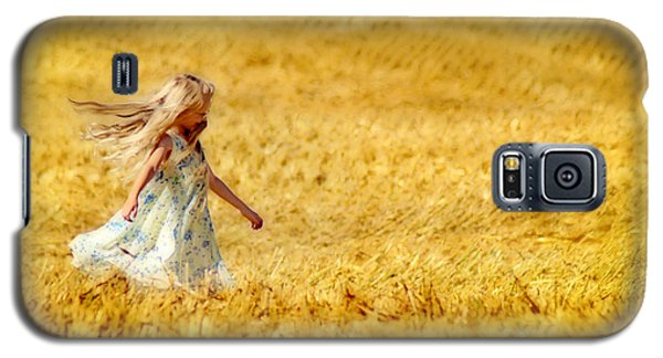 Girl With The Golden Locks Galaxy S5 Case