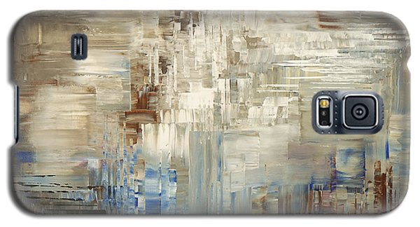 Galaxy S5 Case featuring the painting Glaciology by Tatiana Iliina