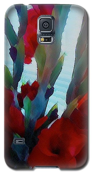 Galaxy S5 Case featuring the digital art Glad by Richard Laeton