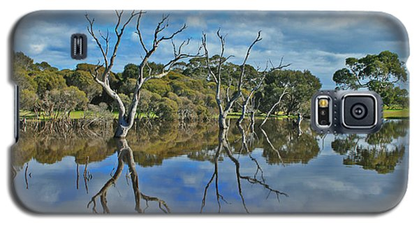 Galaxy S5 Case featuring the photograph Glass Lake by Stephen Mitchell