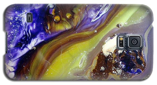 Galaxy S5 Case featuring the painting Glass Painting 24 Detail 3 by Patrick Morgan