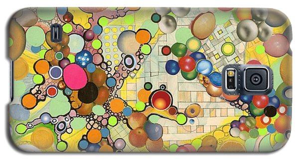 Galaxy S5 Case featuring the mixed media Globious Maximous by Douglas Fromm