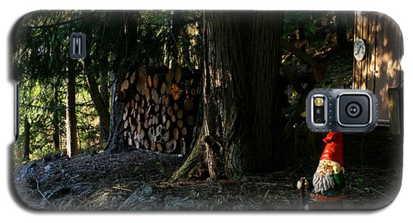 Gnome And The Woodpile Galaxy S5 Case