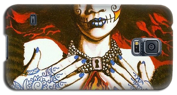 Nudes Galaxy S5 Case - Goddess Of Desire by Shayne  Bohner