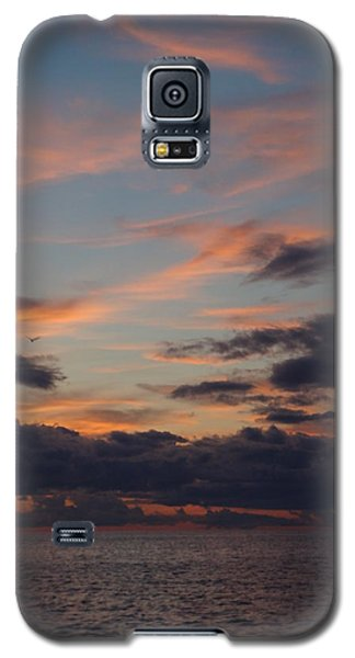 Galaxy S5 Case featuring the photograph God's Evening Painting by Bonfire Photography