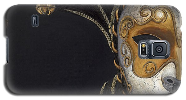 Gold Carnival Mask Galaxy S5 Case
