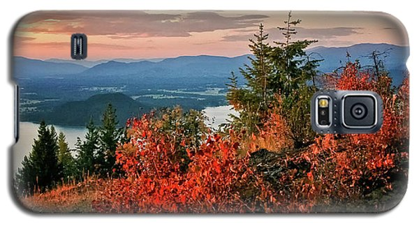 Galaxy S5 Case featuring the photograph Gold Hill Sunset by Albert Seger