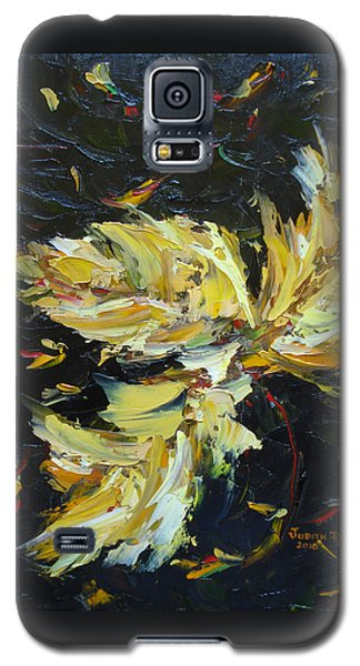 Golden Flight Galaxy S5 Case by Judith Rhue