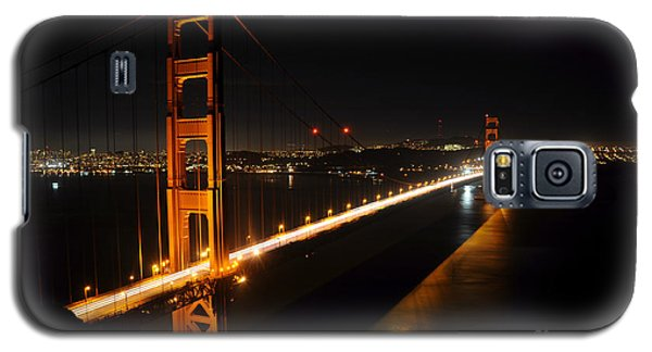 Galaxy S5 Case featuring the photograph Golden Gate Bridge 2 by Vivian Christopher