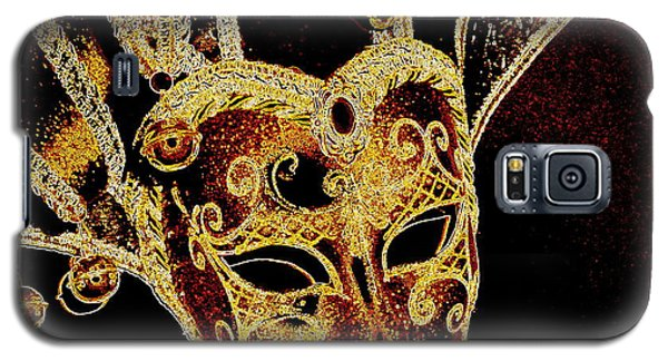 Golden Mask Galaxy S5 Case