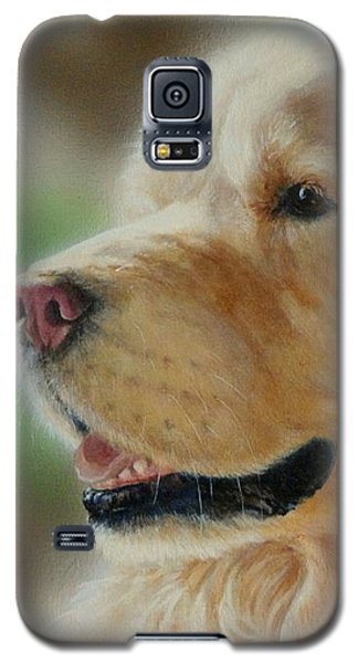 Golden Retriever Galaxy S5 Case