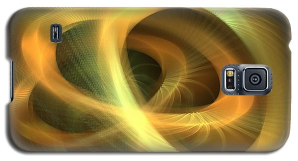 Golden Rings Galaxy S5 Case by Kim Sy Ok