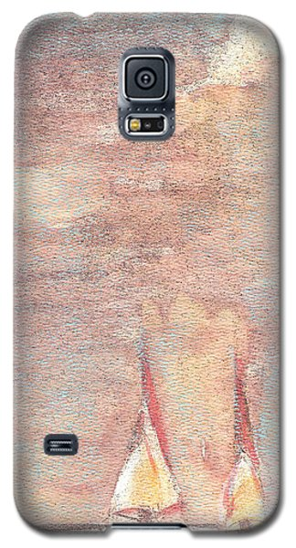 Golden Sails Galaxy S5 Case by Richard James Digance